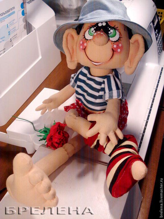 МужЩина в доме.... 2. - интерьерная кукла,мужчина,Оригинальная кукла,семья