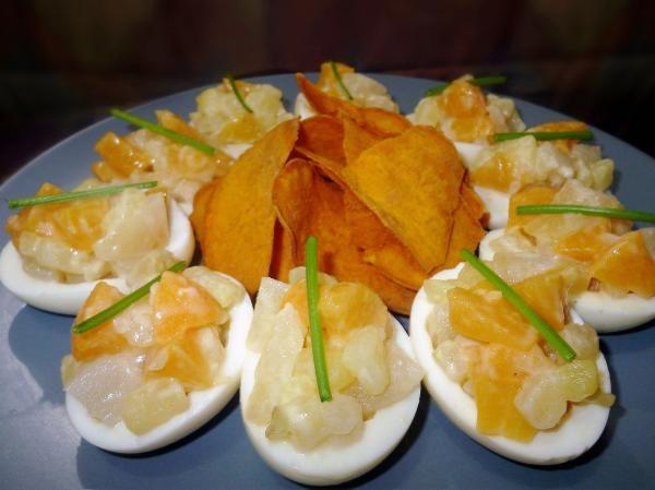 Aprende a preparar huevos a la hawaiana con esta rica y fácil receta. Una receta muy fácil y refrescante para épocas de calor. Aprende cómo preparar huevos rellenos...