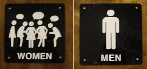 Take a look at some of the funniest, creative and coolest restroom signs from around the globe.