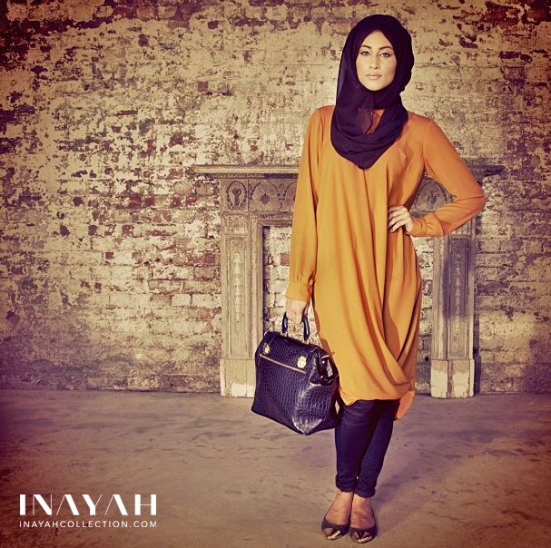 Designer modest clothing at www.inayahcollection.com