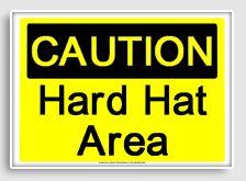 free printable hard hat area osha sign workshop of wonders vbs