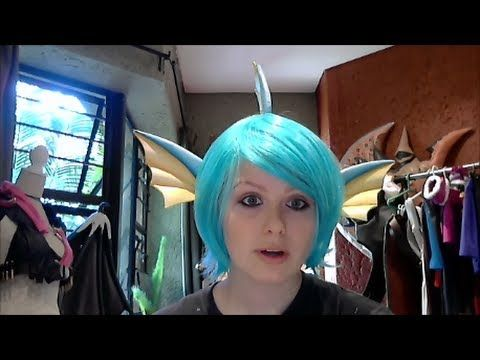 ▶ Vaporeon Cosplay Ears Tutorial - YouTube This would be great for any sea dwellers