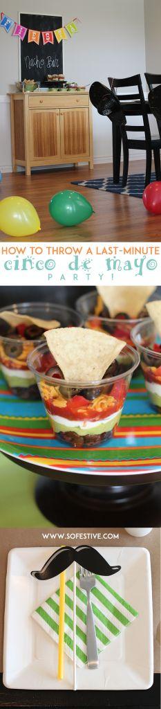 How to Throw a Last Minute Cinco De Mayo Nacho Bar Party