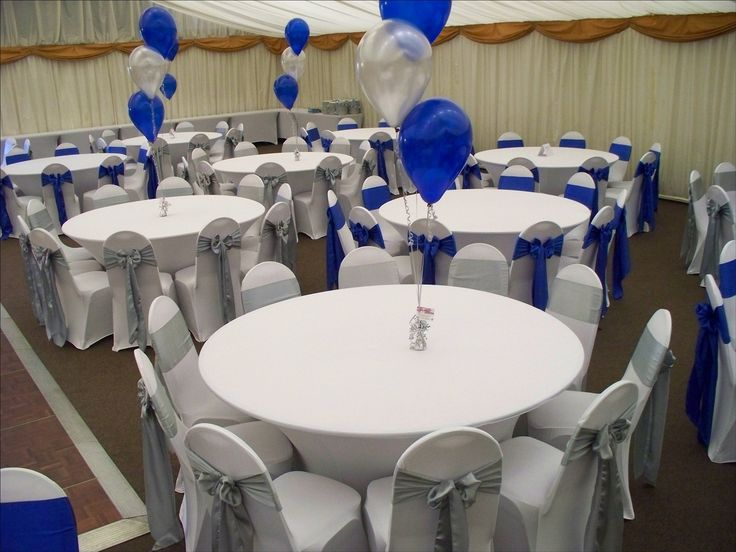 royal blue table decorations wedding 32 best wedding table centerpiece images on 7156