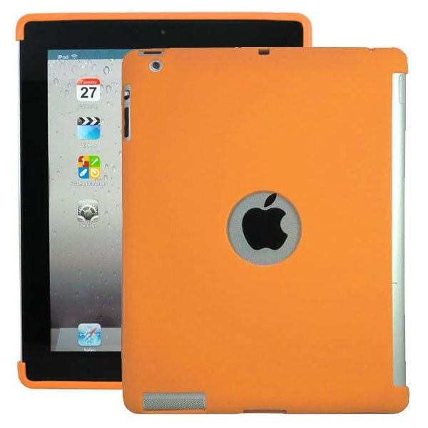 Soft Shell - Smart Cut (Oransje) iPad 3 Deksel