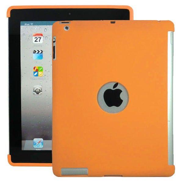 Soft Shell - Smart Cut (Oransje) iPad 3 Deksel