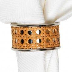 Caning Natural Napkin Ring