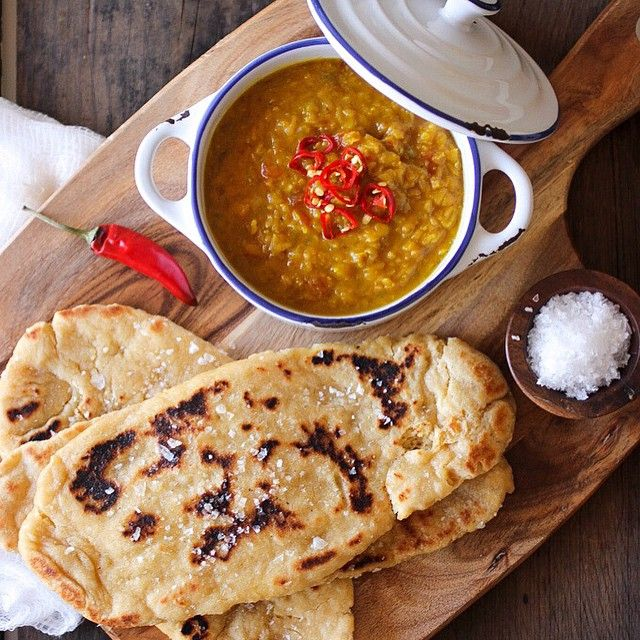 It's finally up! As promised, not one; but TWO of my absolute favourite recipes of all time! Indian Daal Lentils with homemade Wholewheat Naan Bread. A pairing made in heaven. And guess what? This stovetop Naan bread requires no kneading or baking! I kid you not! Head on over to mattersofthebelly.com for both recipes.