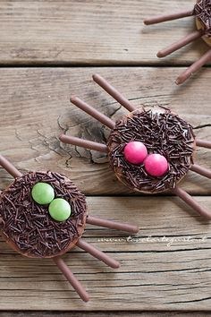 Biscotti ragno per Halloween - Spider cookies