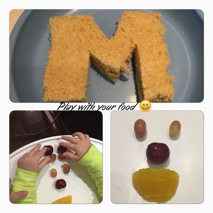 Play with your food :)