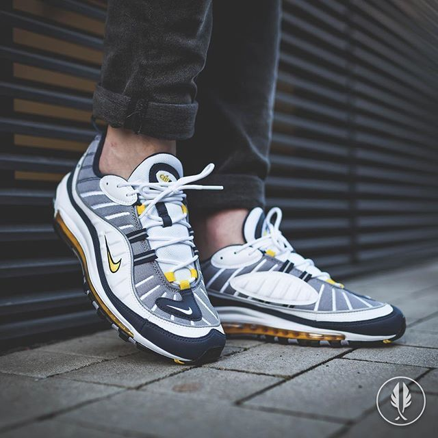 buy best official photos entire collection Nike Air Max 98 Tour Yellow | shoes in 2019 | Sneakers ...