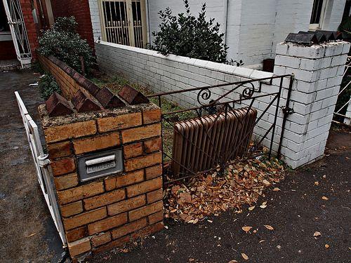 RIP - Discarded radiator Flickr - https://www.flickr.com/photos/123419261@N02/ Tumblr - ozpicday.tumblr.com