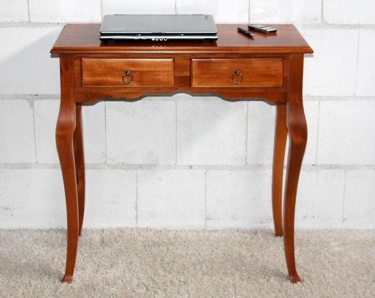 Flurtisch Wandtisch Telefontisch Konsole Konsolentisch holz massiv kirsch farbe in Möbel & Wohnen, Möbel, Tische | eBay!