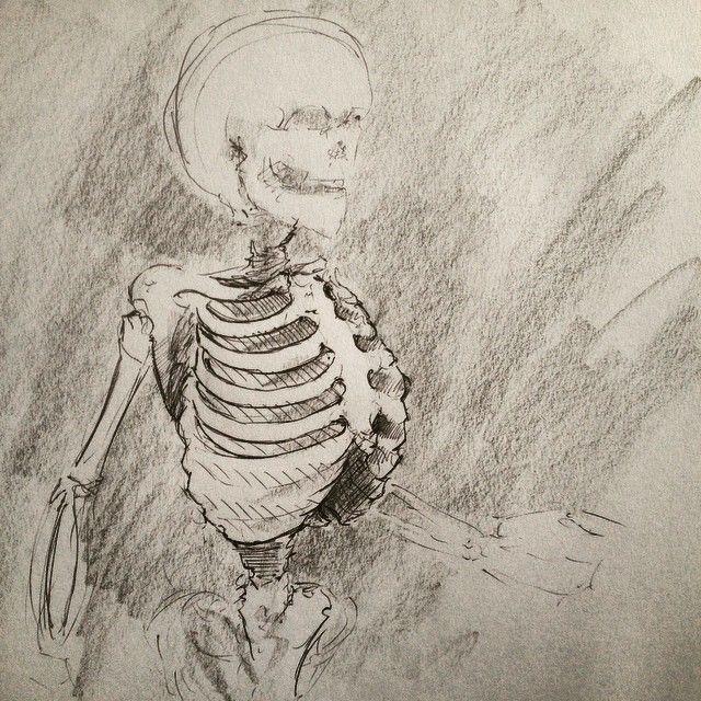 #ribcage #sketchbook #dailydraw