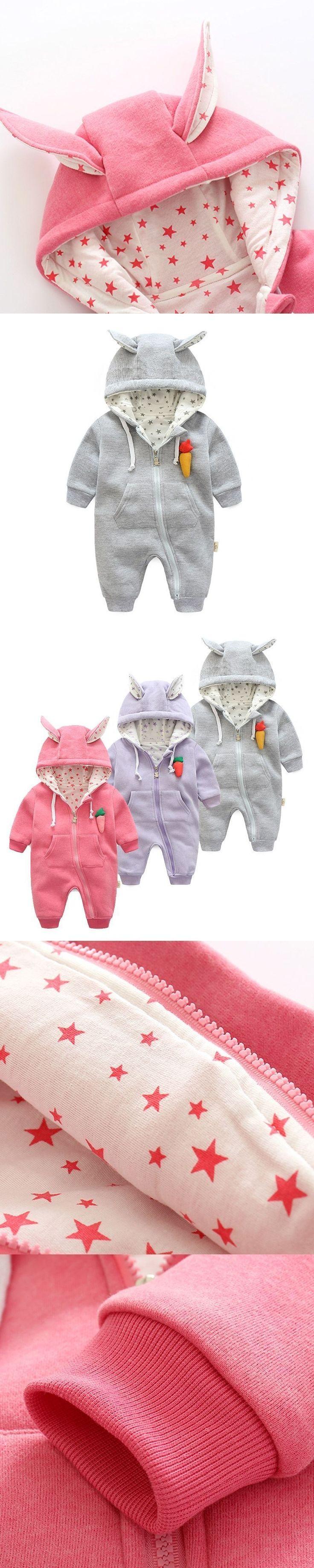 2017 autumn spring infant girl costumes cute Carrot hoodies for girls  outerwear & coats , 0-24M Baby Girls clothes Newborn wear #babygirlhoodies #babygirlcoats
