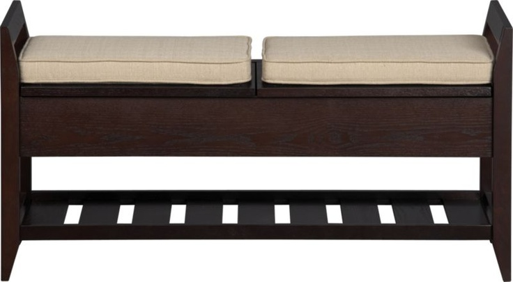 Perfect Addison Storage Bench With Cushions In Entryway Benches | Crate And Barrel  | Home Decorating Ideas | Pinterest | Entryway Bench, Storage Benches And  Crates