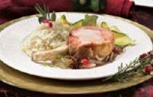 Carré de porc au thé et au fenouil | Recettes IGA | Rôti, Vin blanc, Recette facile
