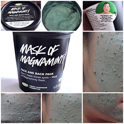 Lush's Mask of Magnaminty is a god-sent for those with oily and acne prone skin. It also removes black heads and reduces the appearance of pores and bumps. Yes they even help in flattening out melia seeds!