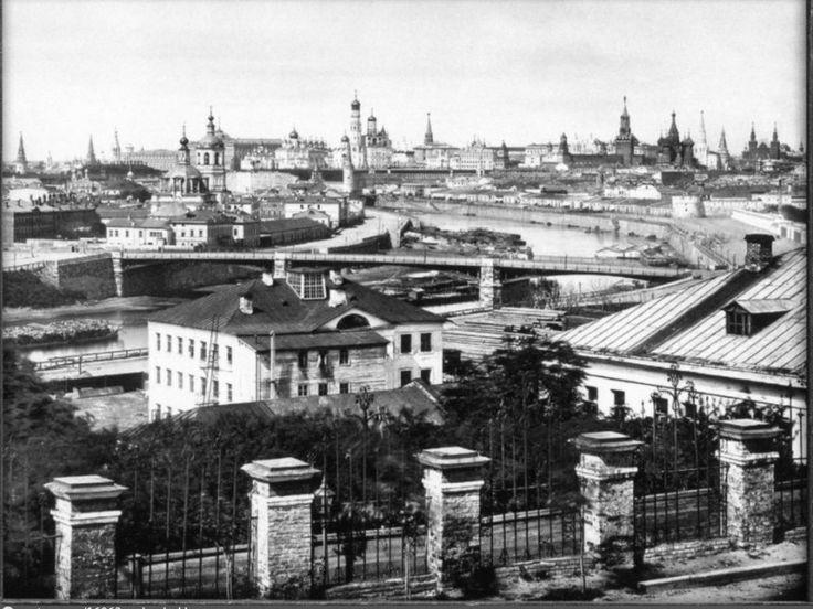 View of the Kremlin, 1883.