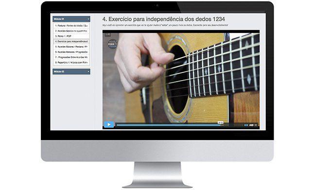 Violão Curso Completo de Violão - Online ! Realize seu sonho de tocar violão! Simples, fácil, rápido e passo a passo. Saiba Mais ... ACESSE: CLIQUE NA IMAGEM PARA ACESSAR O SITE