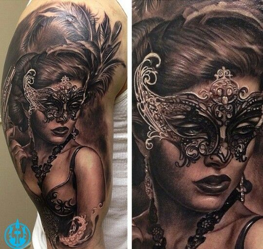 Best Images About Maskitatuointi Tooth Tattoo Jpg 540x511 Woman Mask Ideas