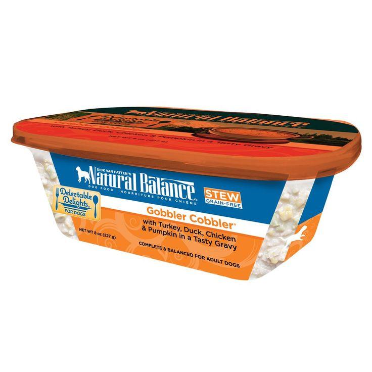 Natural balance delectable delights adult dog food grain