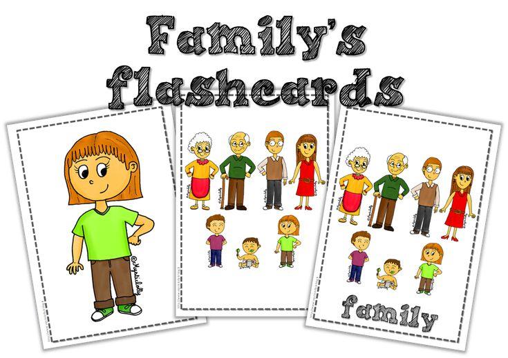 Flashcards sur la famille !