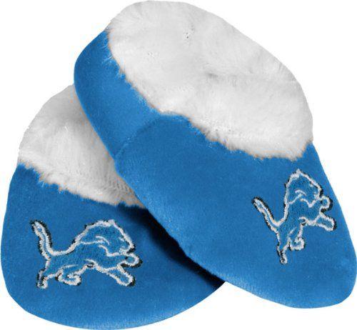 NFL Detroit Lions Baby Bootie Slippers, Small  http://allstarsportsfan.com/product/nfl-detroit-lions-baby-bootie-slippers-small/  Officially licensed Footwear