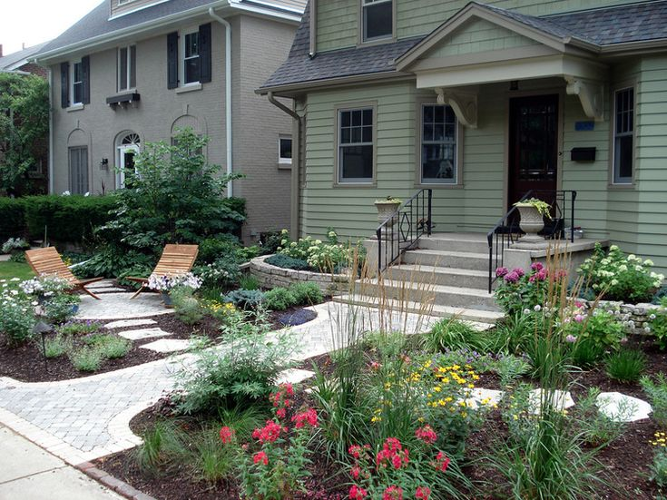 traditional landscape by natures perspective landscaping front yard designfront