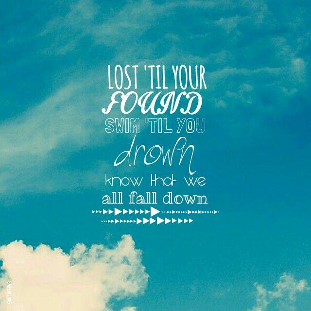 All Fall Down -OneRepublic