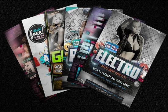 free-flyer-mock-up-example - 160 Free and Premium PSD Flyer Design - example of flyers