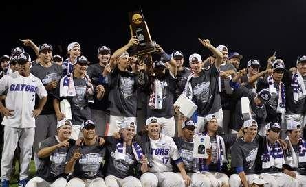 Florida wins baseball national championship by sweeping LSU | Gatorsports.com