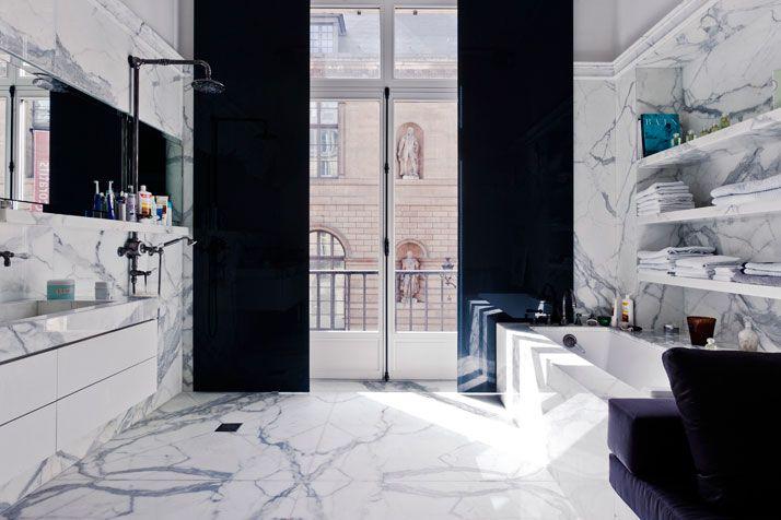 An Apartment by Isabelle Stanislas + Leiko Oshima on Rue de Rivoli, Paris, FR | Yatzer