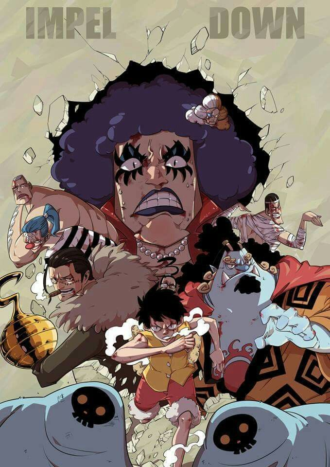 One Piece- Impel Down