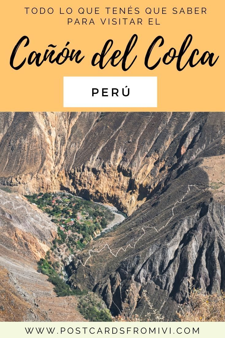 A complete guide for hiking the Colca Canyon on your own. How to get to Colca from Arequipa, where to stay and useful tips. Peru Travel, Thailand Travel, Croatia Travel, Bangkok Thailand, Hawaii Travel, Italy Travel, Backpacking South America, South America Travel, Memes Del America