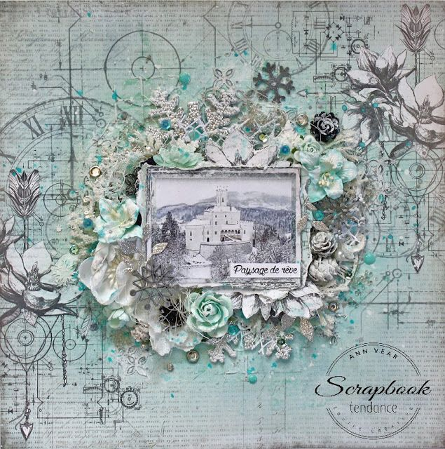 Scrapbook Tendance: Vendredi Mixed Média