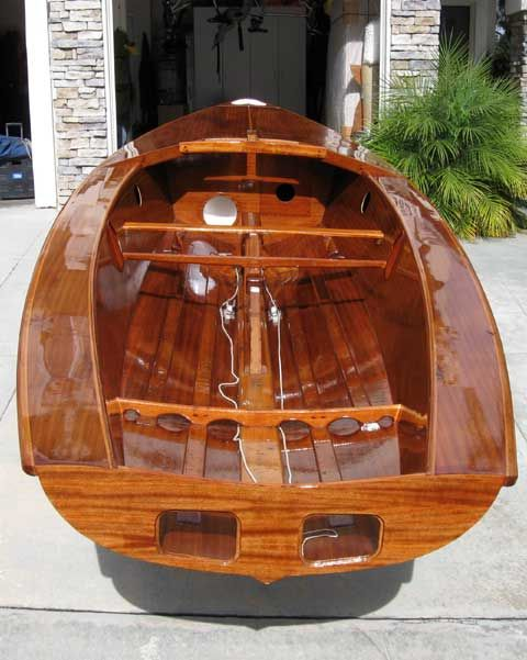 Even dafter than usual: an Osprey dinghy question