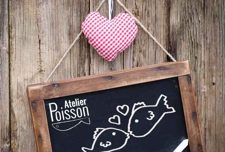 Saint-Valentin l Atelier Poisson