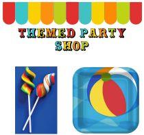 themed party shop, carnival, circus, beach ball, shabby chic, farm, vintage circus, jilly bean kids