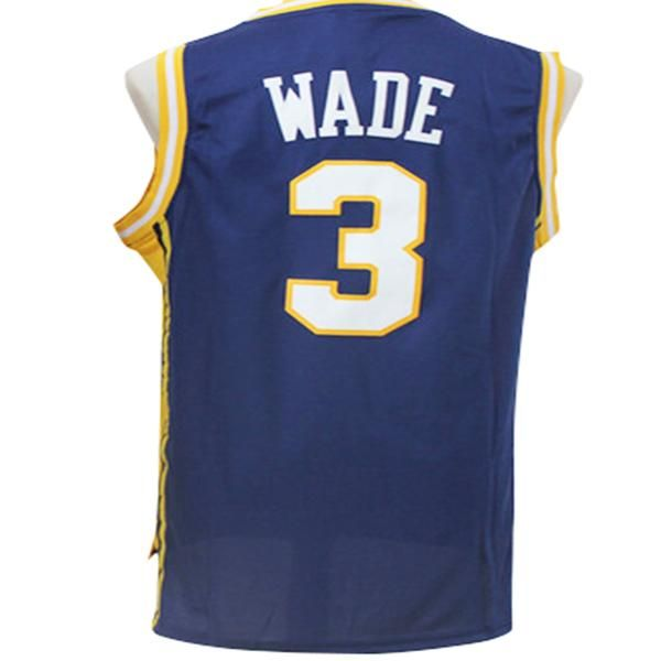 Dwayne Wade Marquette Golden Eagles Throwback College Basketball Jersey