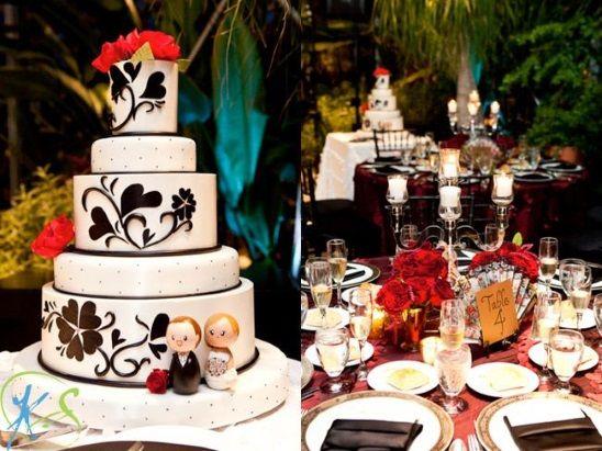 Spanish-Theme-Wedding-Cake-A2zWeddingCards