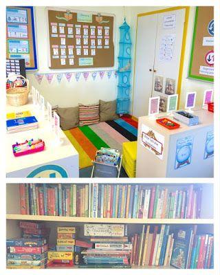 Klassenzimmer in der Grundschule: Einblick in meine Leseecke