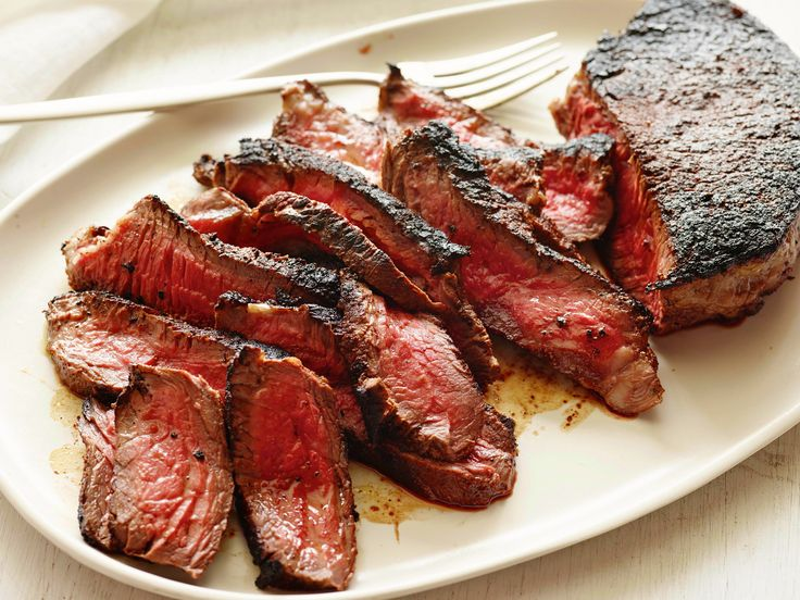 Cowboy Steak with Coffee and Chili Rub Recipe : Ellie Krieger : Food Network - FoodNetwork.com