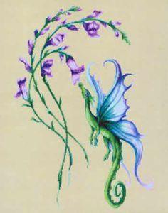 dragon cross stitch patterns free printable - Google Search
