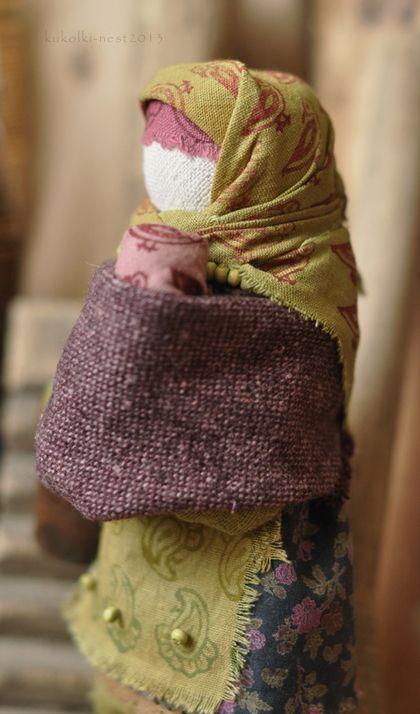 """Народные куклы ручной работы. Ярмарка Мастеров - ручная работа Кукла-образ"""" ...вместе!"""".. Handmade."""