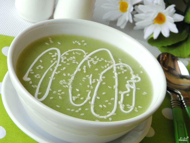 Диетический суп-пюре из брокколи