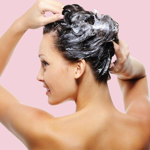 Haare schonend waschen