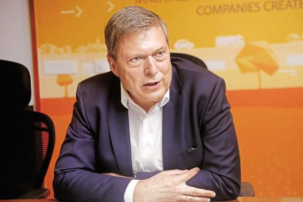 Tata Motors CEO Guenter Butschek. JLR sales increased 5.07% from a year ago to 149,690 units, led by strong customer demand for the Range Rover Velar and other new models. Photo: Abhijit Bhatlekar/Mint