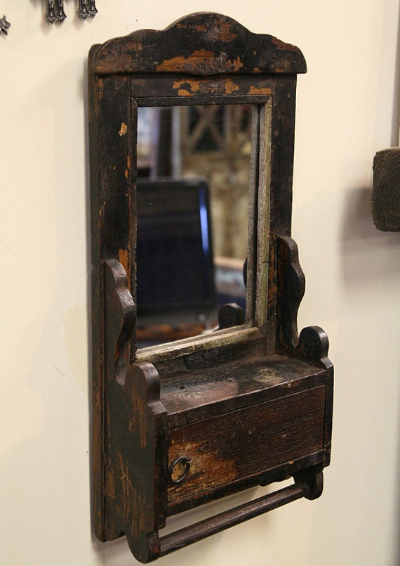 1000 Images About Colonial And Primitive Mirrors On