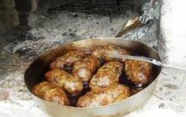 Συνταγή για τζιγεροσαρμάδες Θρακιώτικοι. Παραδοσιακή συνταγή για τζιγεροσαρμάδες. Συκωταριά